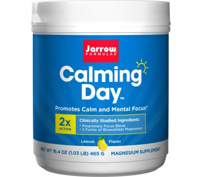 Calming Day powder for mental focus - magnesium, potassium, taurine, inositol and theanine | Jarrow Formulas