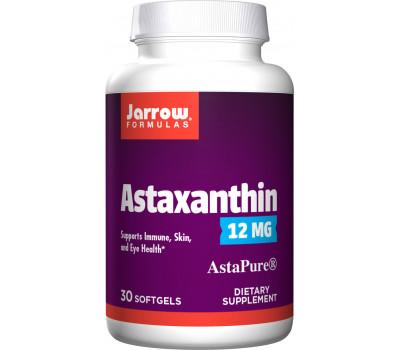 Astaxanthin High Potency 12mg 30 softgels trial-size   Jarrow Formulas