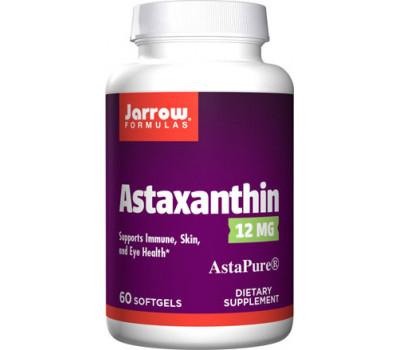 Astaxanthin High Potency 12mg 60 softgels grootverpakking - hooggedoseerde astaxanthine | Jarrow Formulas