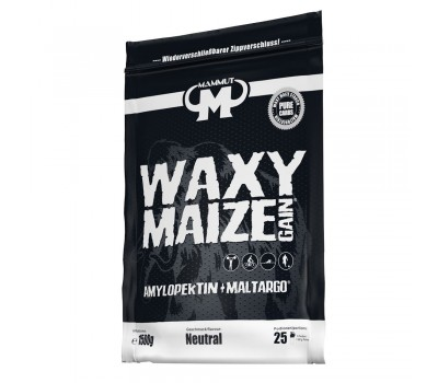 Waxy Maize Gain 1500g - amylopectin, the perfect starch  for carb loading | Mammut Nutrition
