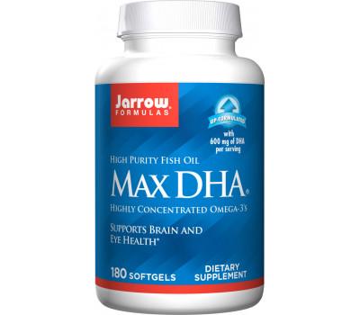 maxDHA 180 softgels - omega3 with a high amount of DHA | Jarrow Formulas