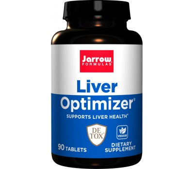 Liver Optimizer 90 tabs - milk thistle, B-vitamins, R-ALA, N-acetyl cysteine and uridine | Jarrow Formulas
