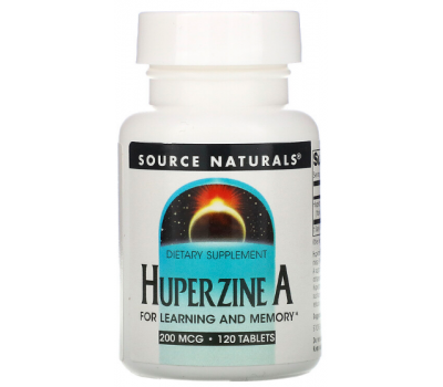Huperzine A 200mg 120 tablets | Source Naturals