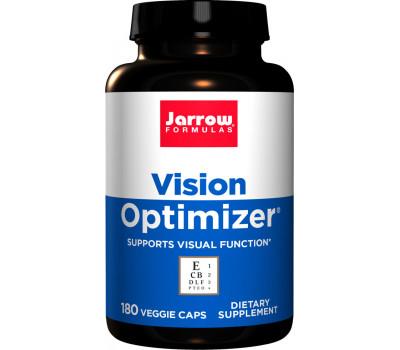 Vision Optimizer 180 capsules grootverpakking - luteïne, zeaxanthine, Zweedse bosbes, druivepit,  ogentroost, ALA, quercetine | Jarrow Formulas