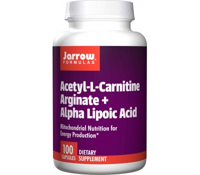 Acetyl-L-carnitine arginate + Alpha Lipoic Acid 100 caps | Jarrow Formulas