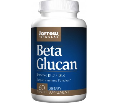 Beta Glucan 60 caps from Saccharomyces cerevisiae | Jarrow Formulas