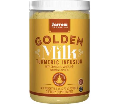 Golden Milk 270g - grass-fed whey, milk protein, coconut milk, turmeric, ginger and cinnamon | Jarrow Formulas