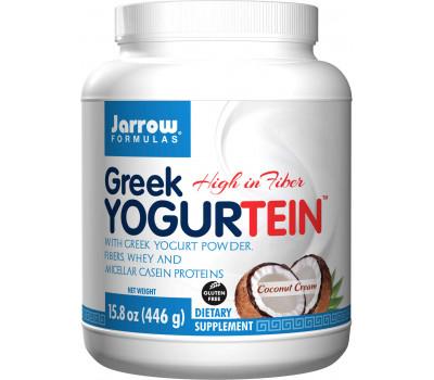Greek Yogurtein - Griekse yoghurt, voedingsvezels, whey en micellar caseïne | Jarrow Formulas