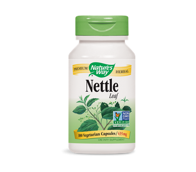 Nettle Leaf 100 caps - Urtica dioica | Nature's Way