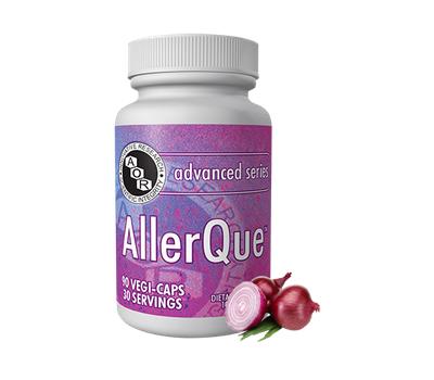 AllerQue 60 caps -  butter bur, quercetin and rosemary | AOR