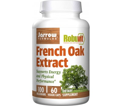 Robuvit French Oak Extract 100mg  60 capsules - Franse eikextract | Jarrow Formulas