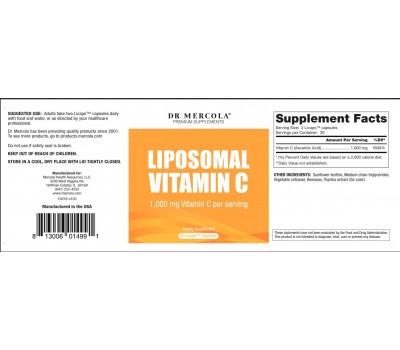 insert Liposomal vitamine C
