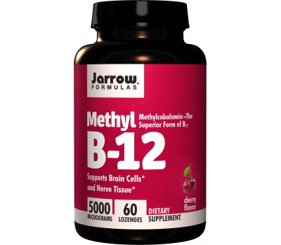 B12 - Methylcobalamin 5000mcg 60 lozenges cherry flavour