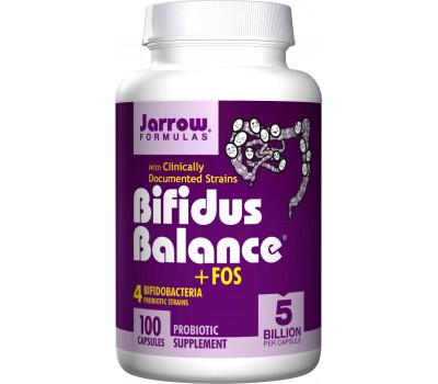 Bifidus Balance + FOS 5 billion 100 capsules | Jarrow Formulas
