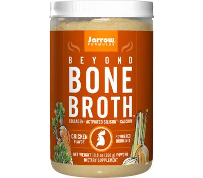 Beyond Bone Broth Chicken 306g - chicken drink mix with collagen peptides and minerals  | Jarrow Formulas