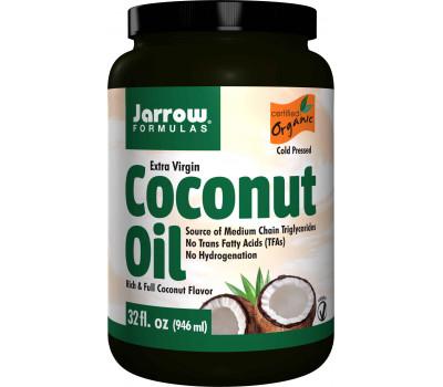 Organic Extra Virgin Coconut Oil 908g -  extra virgin organic coconut oil | Jarrow Formulas