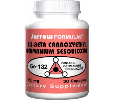 Germanium GE-132 150mg 30 capsules - organic germanium (bis-beta carboxyethyl Germanium sesquioxide) | Jarrow Formulas