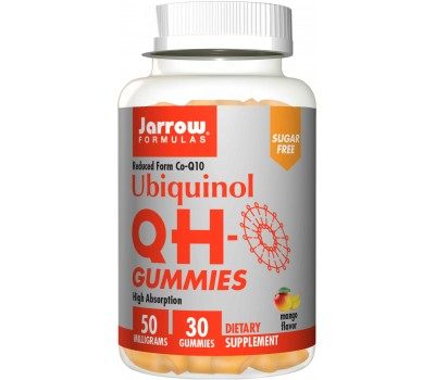 Q10 QH-Gummies 50mg  - ubiquinol 30 gummies | Jarrow Formulas