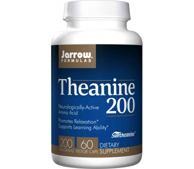 Theanine 200mg 60 capsules  | Jarrow Formulas