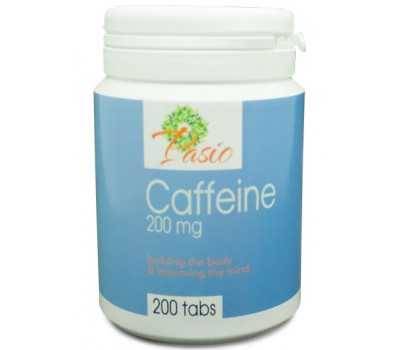 Caffeine 200mg 200 tablets - Energía | Pasio