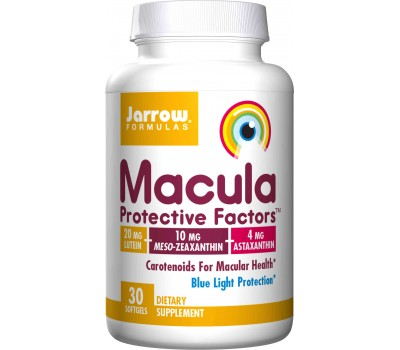 Macula Protective Factors 30 softgels- lutein, astaxanthin and zeaxanthin | Jarrow Formulas
