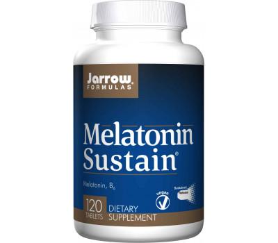 Melatonin Sustain 1mg 120 tablets - melatonin for a slow and gradual absorption | Jarrow Formulas