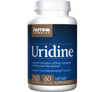 Uridine 60 capsules - nucleotide uridine 5' monofosfaat dinatriumzout   Jarrow Formulas