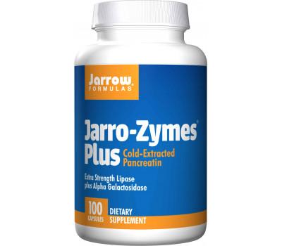 Jarro-Zymes Plus 100 capsules - lipase, protease , amylase, alfa-galactosidase voor een gezonde spijsvertering | Jarrow Formulas