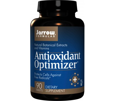Antioxidant Optimizer 90 tablets - lutein, lycopene, gammaE, green tea, milk thistle, olive fruit, grape seed | Jarrow Formulas