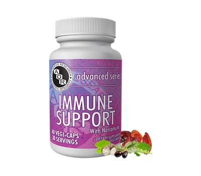 Immune Support 60 capsules - NatraMune formula, holy basil, Emblica , Andrographis, zinc and copper | AOR