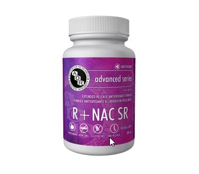 Alpha Lipoic Acid  (R-) +NAC SR 90 capsules - R-alpha lipoic acid + N-acetyl-cysteine sustained release | AOR