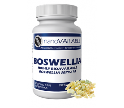 Boswellia serrata nanoVAILABLE 90 capsules - natural anti-inflammatory herb that is easily absorbed | AOR