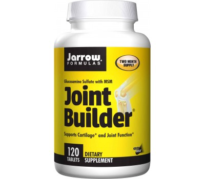 Joint Builder 120 tabs -  glucosamine, MSM, manganese, vitamin C & D3 | Jarrow Formulas