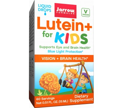 Lutein + for Kids 15ml - vloeibare luteÏne en zeaxanthine voor kinderen   Jarrow Formulas