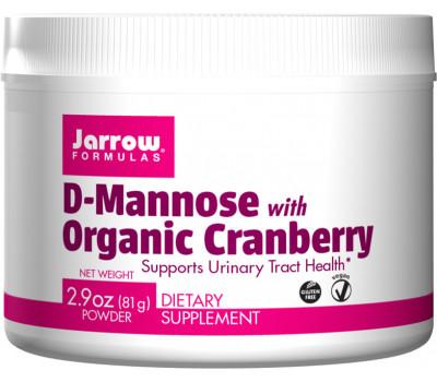 Organic Cranberry with Mannose 81g powder | Jarrow Formulas
