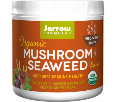 Organic Mushroom and Seaweed Blend 135g - miso soup with a blend of mushrooms and seaweeds with ginger and turmeric | Jarrow Formulas