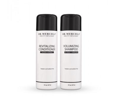 Healthy Hair & Scalp Shampoo en Conditioner 237ml - haarverzorging, die uw haardos en hoofdhuid verjongt   Mercola Nutrition