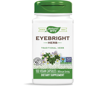 Eyebright Herb 100 caps - ogentroost | Nature's Way