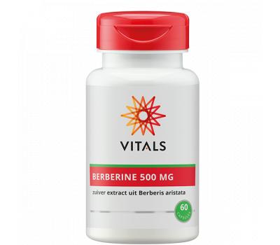 Berberine 500 mg 60 capsules  - pure extract from Berberis aristata  | Vitals