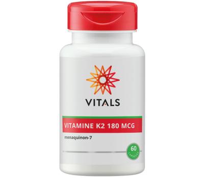 K - Vitamine K2 180mcg 60 capsules - menaquinon | Vitals