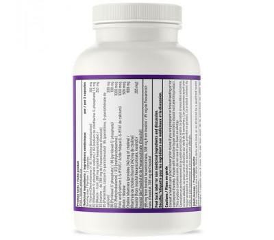 B - Advanced B-complex 180 capsules -  benfotiamine, methyl-B12, 5MTHF and pantethine   AOR