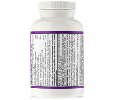 Advanced Pain Relief 60 capsules - carnitine, magnesium and herbs (ginger, curcuma, poppy) | AOR