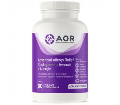 Advanced Allergy Relief 60 capsules - kruiden, Bifidobacterium en zink | AOR