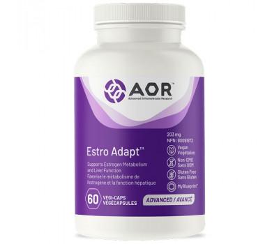 Estro Adapt 60 capsules - broccoli (DIM), hop, calcium glucaraat en choline   AOR