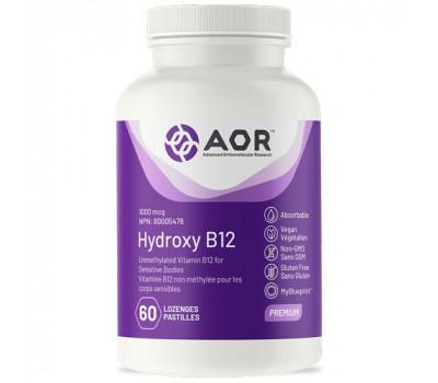 B12 -  Hydroxycobalamin 1mg 60 lozenges   AORB12 -  Hydroxycobalamin 1mg 60 lozenges   AOR