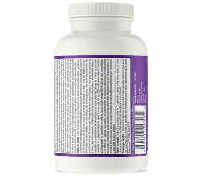 IBD Relief 120 capsules - Saccharomyces, boswellia, ginger, aswagandha, vitamin D3 and protease | AOR