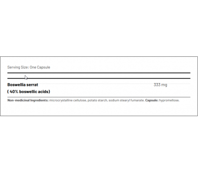 Maxi-Boz II  90 capsules - Boswellia serrata, a herb with remarkable anti-inflammatory properties | AOR