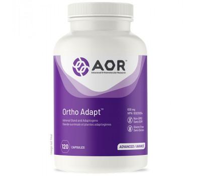 Ortho Adapt 120 capsules - adrenal gland, vitamins, licorice root, ashwagandha, Siberian ginseng, and rhodiola | AOR