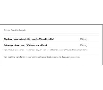 Relax and Recharge 90 capsules - ashwagandha en rhodiola | AOR