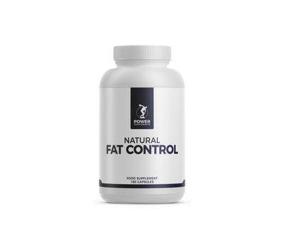 Natural Fat Control 180 capsules - groene thee, kurkuma, druivepittenextract met OPC  | Power Supplements